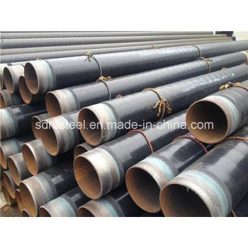 3lpe/2PE 3PE Coating API 5L LSAW/ERW Steel Pipe