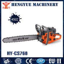Scie à chaîne d'opération flexible de la machine 45cc avec la qualité