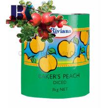 Естественное консервированное яблоко без загрязнений