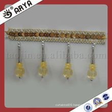 Decorative Table pearls beads curtain Fringe Used for Curtain Accessories,Match Drapery Fabric