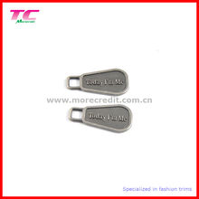 Custom Engraved Logo Metal Zipper Puller for Bag