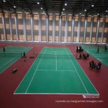 Pisos de PVC de deportes para el tenis