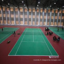PVC Sports Flooring pour tennis