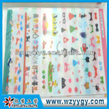 2013 new opaque adhesive pvc sticker sticker for kids from factory