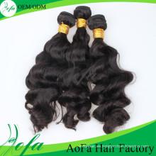 Extensión 100% brasileña del pelo de la onda del cuerpo del pelo de la alta calidad