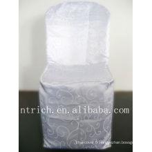 Tissu de chaise chaise jacquard élégant couvercle, damassé