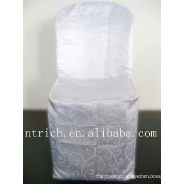 Pano de cadeira cadeira do jacquard elegante capa, Damasco
