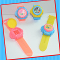 Musical Lighting Talking Mobile Phone Watch Toy with Candy