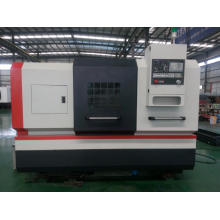 Maquina de torno CNC de alta precisão