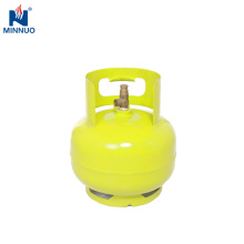 Cilindro de gás de 3KG LPG, garrafa de gás