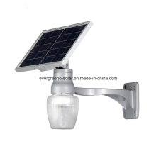 Lumière solaire solaire intégrée de jardin de réverbère de réverbère