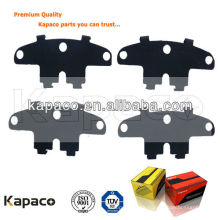 Kapaco Auto Parts pastillas de freno Buckled Anti-Noise shim for brake pad D1468 for Cruze