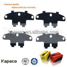 Kapaco Auto Parts frein Pad Buckled Anti-Noise shim pour plaquette de frein D1468 pour Cruze