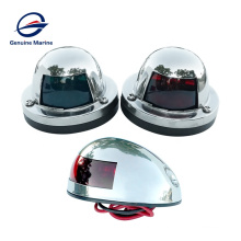 Stainless Steel Boat Marine Yacht Port Light Starboard color For Small Boat Navigation Light