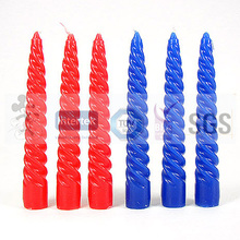 Widely Used Spiral Taper Candles
