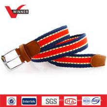 Unisex gewebte Seil geflochtene elastische Gürtel
