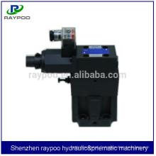 Vannes de décharge proportionnelles Yuken pour machine de moulage par injection verticale