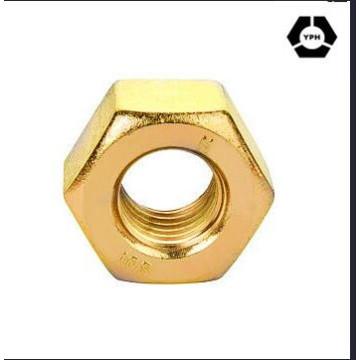 DIN439 шестигранная тонкая Гайка желтый цинк