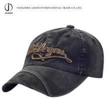 Casquette de baseball en coton Chapeau de golf en coton Chapeau de baseball Chapeau promotionnel Chapeau lavé