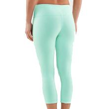 Yoga Fitness Meias Calças Capri Fitness Wear de Crossfit Vestuário