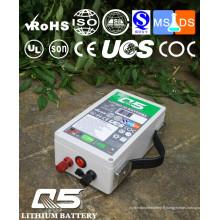 12V18AH Batteries au lithium industrielles Lithium LiFePO4 Li (NiCoMn) O2 Polymer Lithium-Ion Rechargeable ou Personnalisé