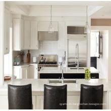Exklusives PVC-MDF-Material Küchenschrank