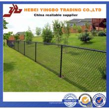 Clôture commerciale de barrière de lien de chaîne utilisée pour la vente (clôture de lien de chaîne)