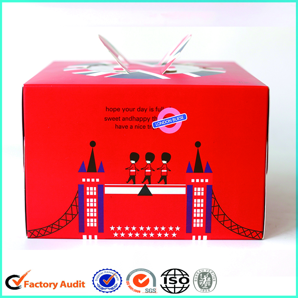 Custom Cake Square Packaging Box