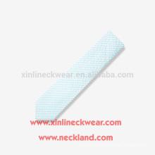Handgemachte Streifen schlanke Krawatte Baumwolle