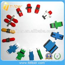 Китайский поставщик волоконно-оптических адаптеров, SC / FC / ST / LC / MPO Fiber Adapter