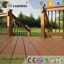 Material 100% WPC Textura de madera Superficie WPC / Decking exterior