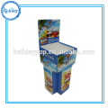 Hot Selling Cardboard Dump Bins With Removable Header,Pop Paper Display Boxes Candy Dump Bins