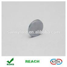 Runde Form-Zink-Beschichtung-Kühlschrank-magnet