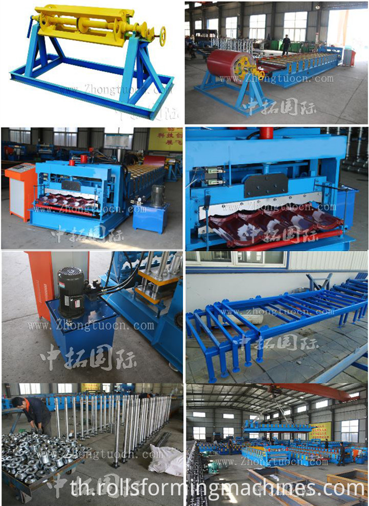Glazed tile roll forming machine (19)