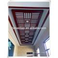tablero decorativo de la pared del divisor de la pantalla del mdf
