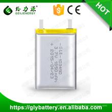 Batería Li-polymer recargable 103045 3.7V 1850mAh