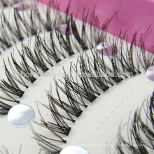Etiqueta privada de piel de visón 3D pestañas fabricante de pestañas de marca propia en Qingdao