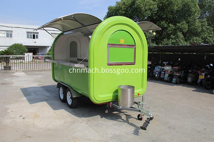 fast food truck cart