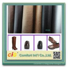 Мода новый дизайн экологически чистые искусственная синтетическая искусственная обувная кожа
