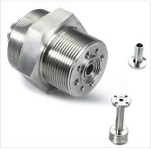Peças de usinagem CNC para torneamento de peças de aço Stsinless