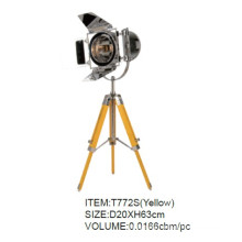 New Style Yellow Tripod Table Lamp with CE&UL