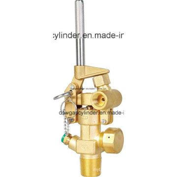 Cilindro de gás preto do nitrogênio 80L