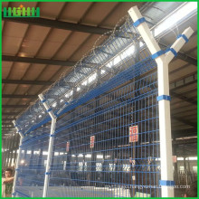 Alibaba China Supplier used airport security chain link fence