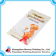 China simple custom logo packing envelope for photos
