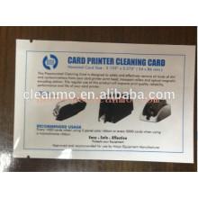 Nettoyage des têtes d'impression Zebra Evolis avec solution Imprimante thermique CR80 Carte de nettoyage Vente directe d'usine