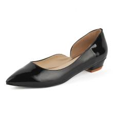 Zapatos de vestir planos de las mujeres de la moda (HCY02-1759)