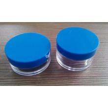 Kosmetik-Glas, Plastikflasche, Sahne-Glas, Sahne-Flasche, Plastikglas