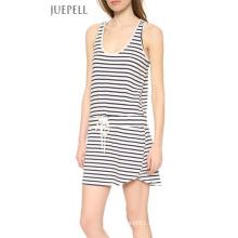 Chine Usine Casual Stripe Cotton Dress
