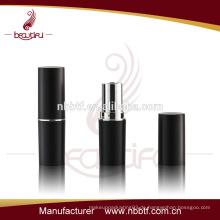 60LI21-10 Schwarzer Kunststoff Lippenstift Tube
