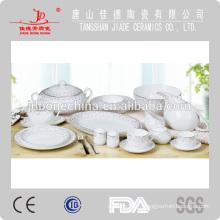 Vaisselle en vaisselle, assiette fine en porc chinois